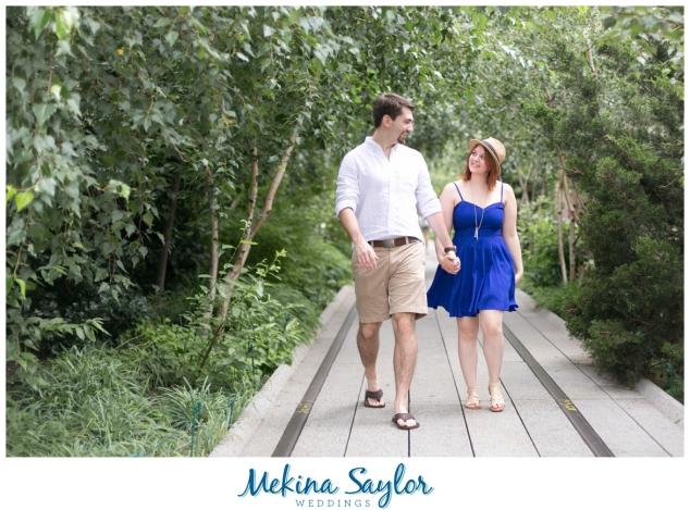 Highline, Central Park, NYC Enagagement pictures-12