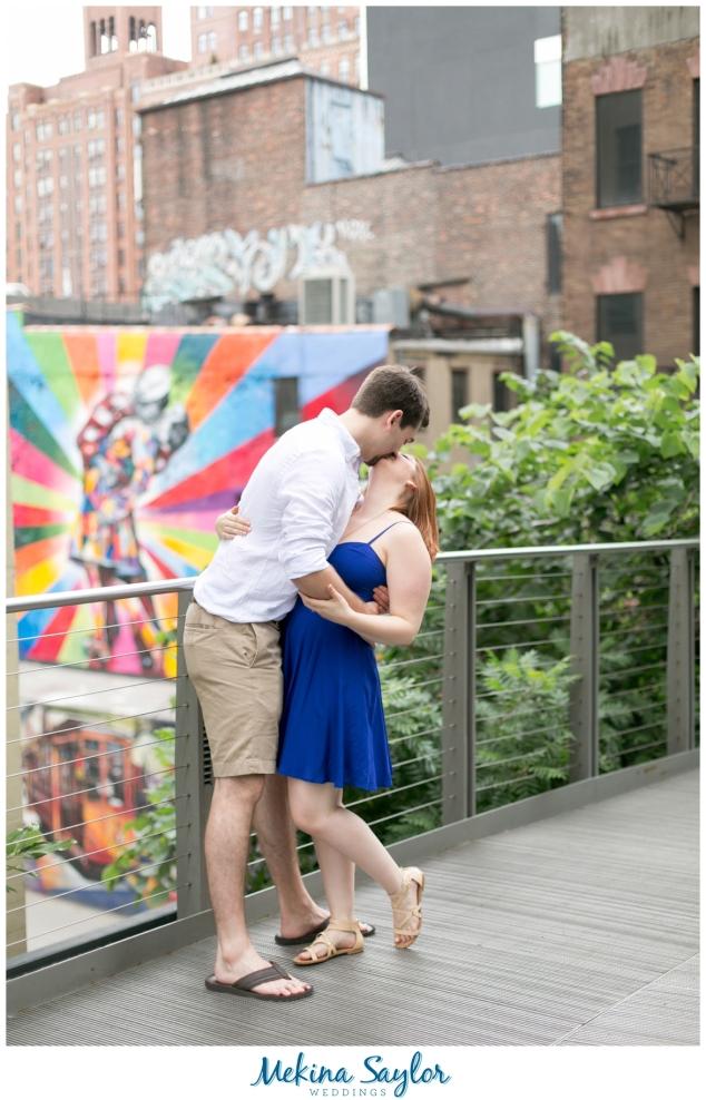 Highline, Central Park, NYC Enagagement pictures-17