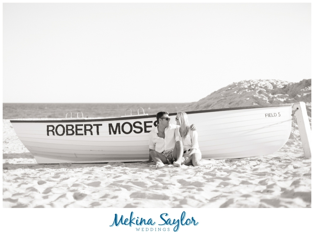 Robert Moses Beach Engagement Fire Island Long Session