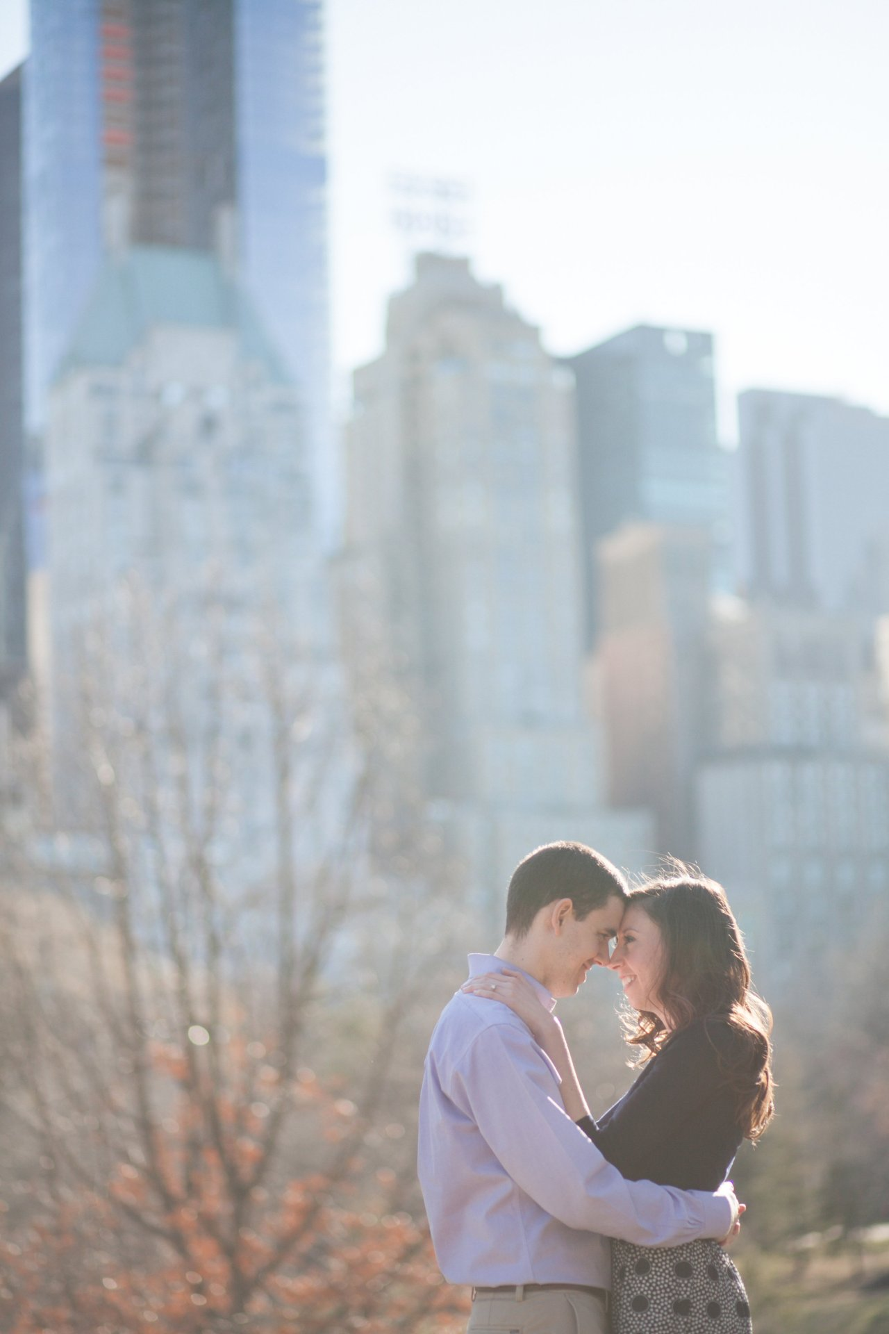 NYC Conservatory Garden Engagement